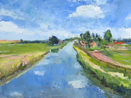 Moerkapelle Waterlandscape