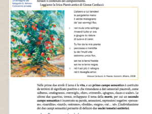 Artwork published in Italian textbook