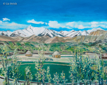 Bamyan City, through Buddhas' eyes