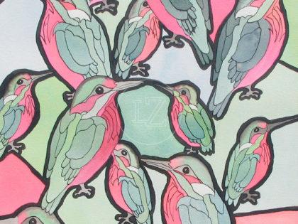 Birds with Escher in mind 2