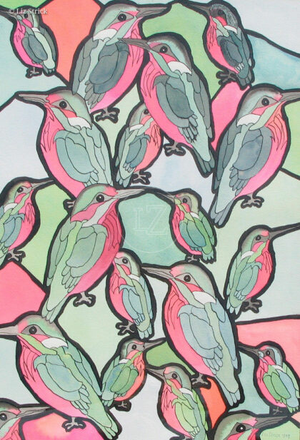 Birds with Escher in mind 2