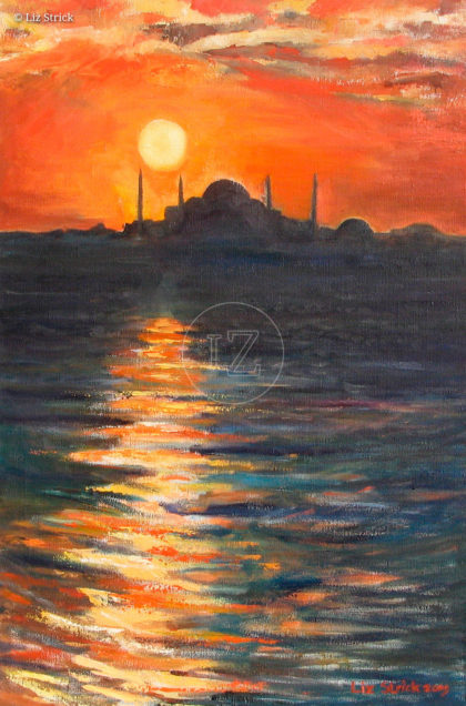 Bosphorus Sunset
