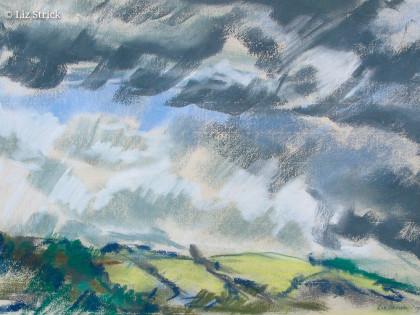 Cloudbreak over Turville Valley
