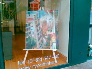 Expositie bij de Hypotheker in Gouda