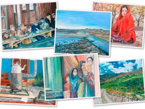 Verkoop briefkaarten t.b.v. het Utran Kili Project!