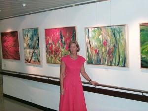"""Paul Gerhardt Werk tentoonstelling in Offenburg, Duitsland """"Dialog mit der Seele"""""""