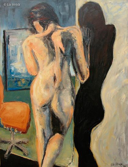 Shadow & woman