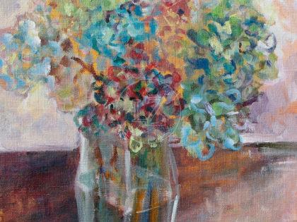 Still-life Hortensia